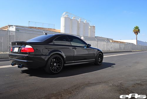 Black E46 M3 W Matte Black Oem Csl Wheels 4 With Images Bmw E46