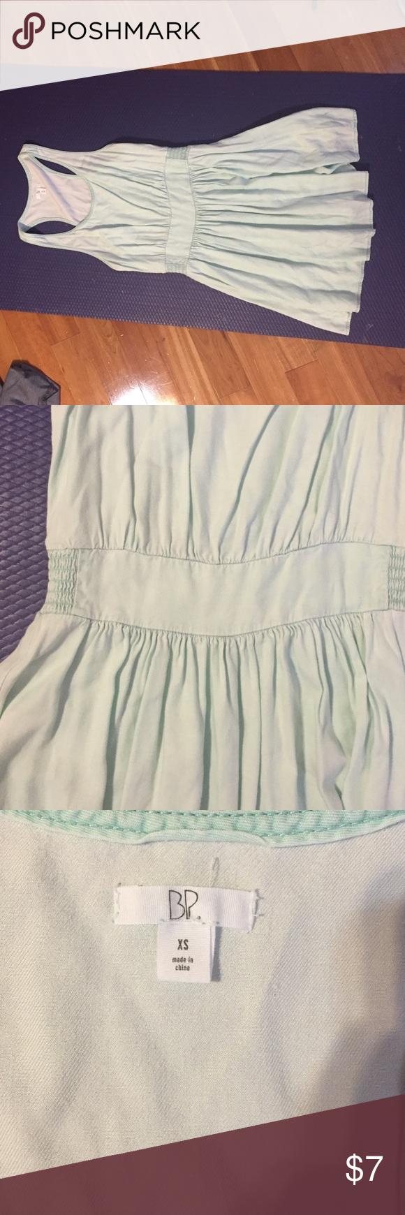 Nordstrom BP Mint Dress Worn once, light plain dress Dresses Mini