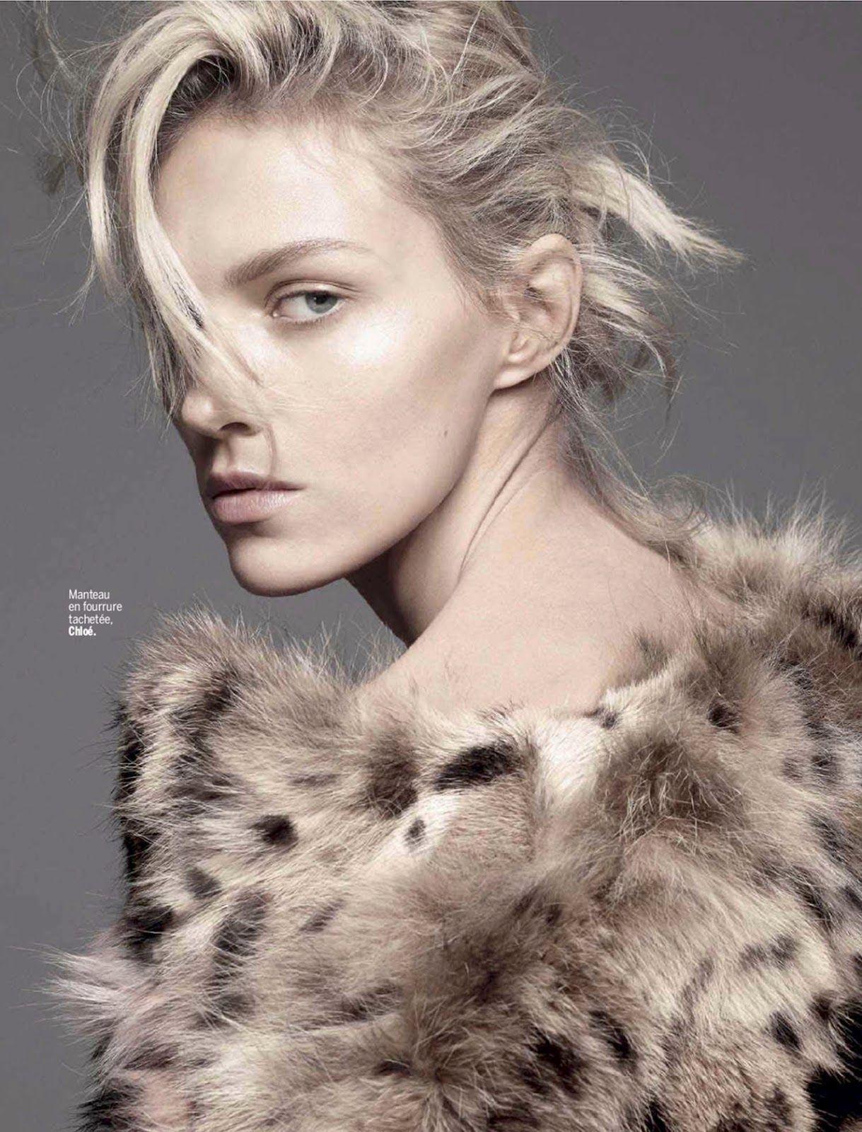 Anja Rubik - L'Express Styles September 2014