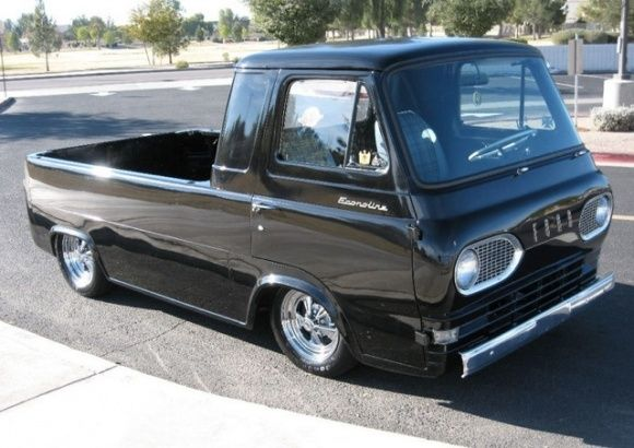 1961 Ford Econoline Pick Up Vintage Trucks Cool Trucks Classic