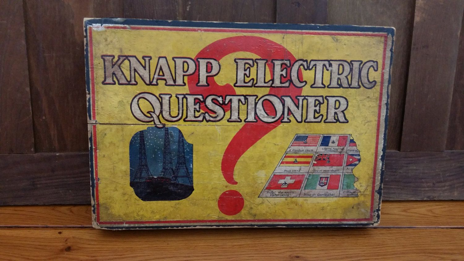Knapp Electric Questioner Game With 13 Insert Quiz Cards By Maliasmark On Etsy Card Games For Kids Therapy Games Speech Therapy Games