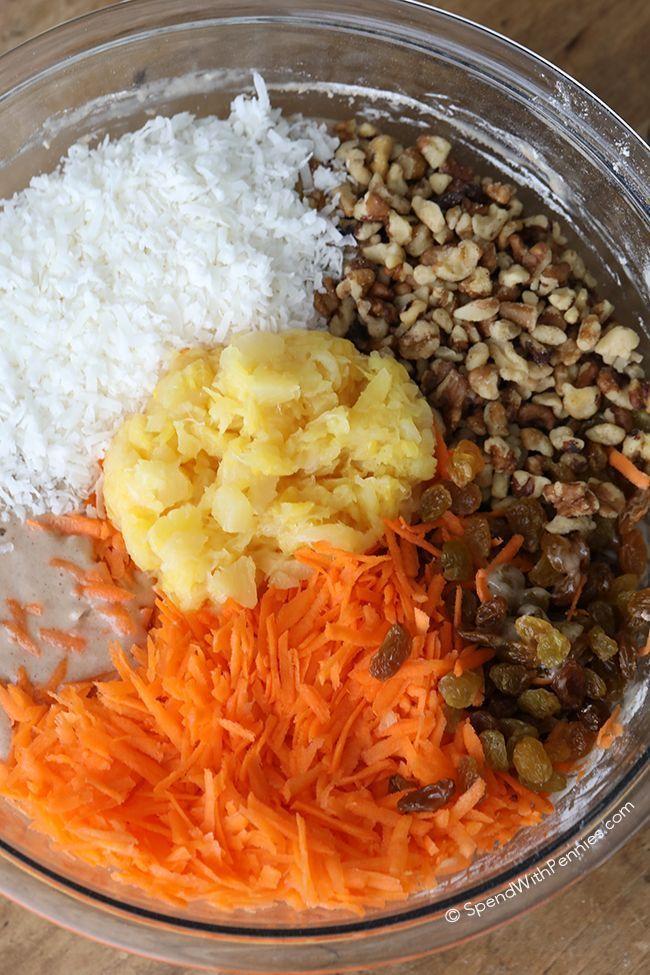 Karottenkuchen ist eines meiner gefragtesten Dessert-Rezepte aller Zeiten. Es ist ... - Desserts -
