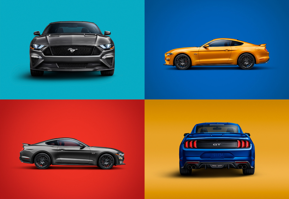 Ford Mustang Gt 2018 On Behance Ford Mustang Gt Ford Mustang Mustang Gt