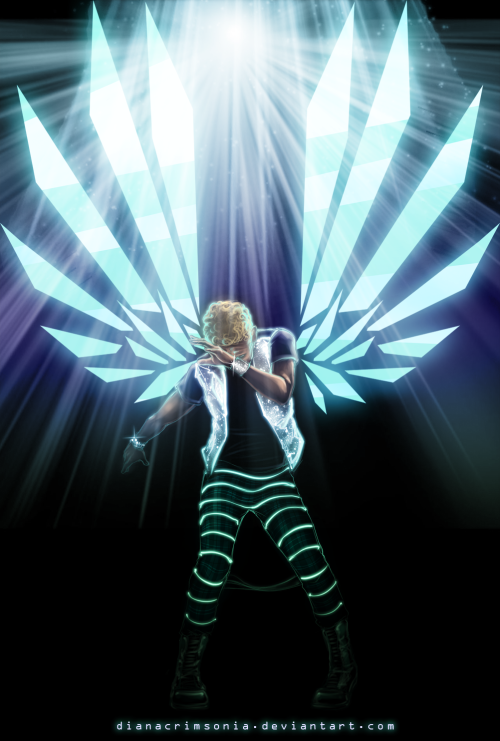 dianacrimsonia:  You know what inspired me to draw this picture? Martin's fabulous glowing pants :) used this photo as a reference