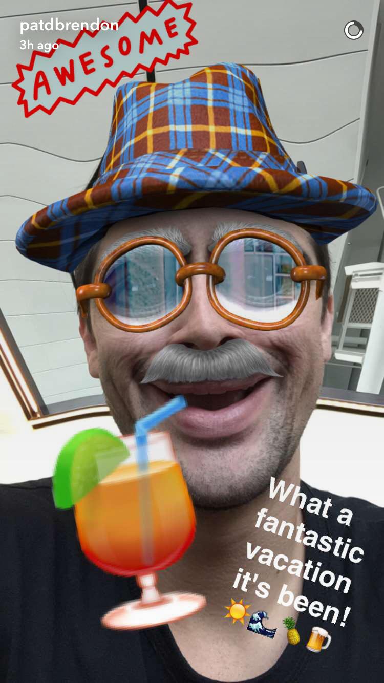 Brendon snapchat panic at the disco pinterest snapchat and