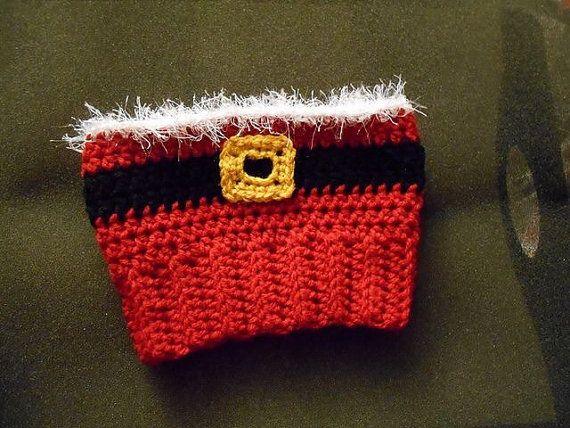 Santa arranque puños   Crochet - Christmas   Pinterest   Puños y Santos