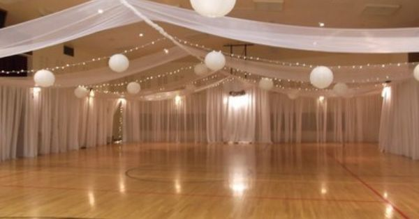 Wall Covering Wedding Reception