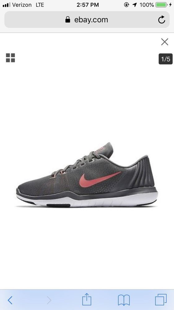 7ad355cc52e95 Nike Flex Supreme TR5 Running Shoes Sneakers Women Size 9 #fashion ...