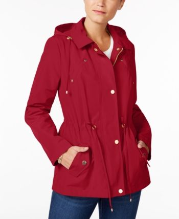 0840a97c0 Charter Club Water-Resistant Hooded Anorak Jacket