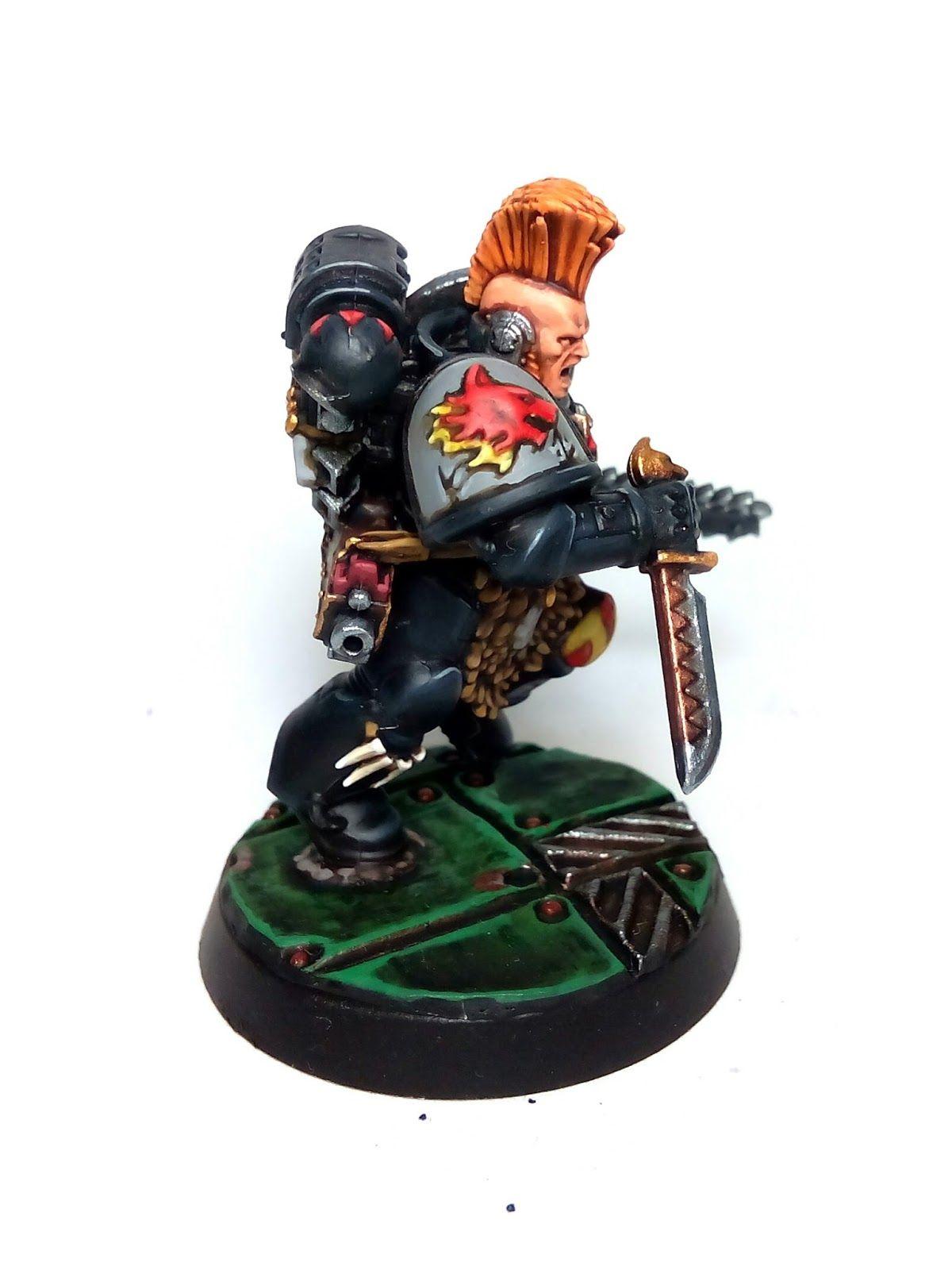 Drenn Redblade, Lobo Espacial del juego Deathwatch: Overkill