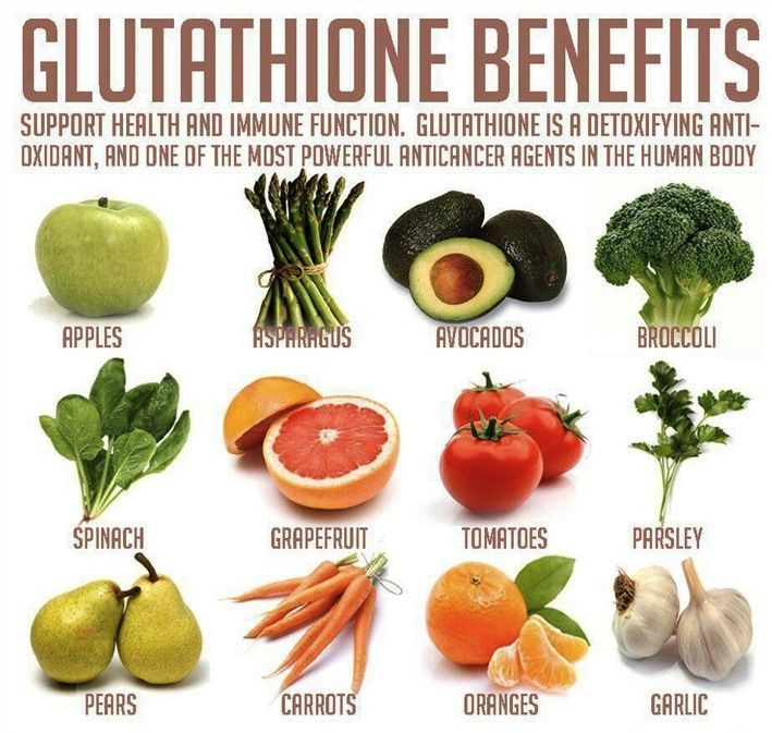 Sulfur-rich foods support glutathione,an intracellular