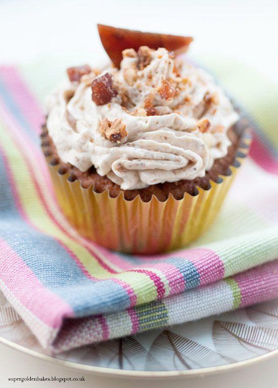 Hazelnut Praline Cupcakes Recipe Dessert Cupcakes Cupcake Cakes Yummy Cupcakes