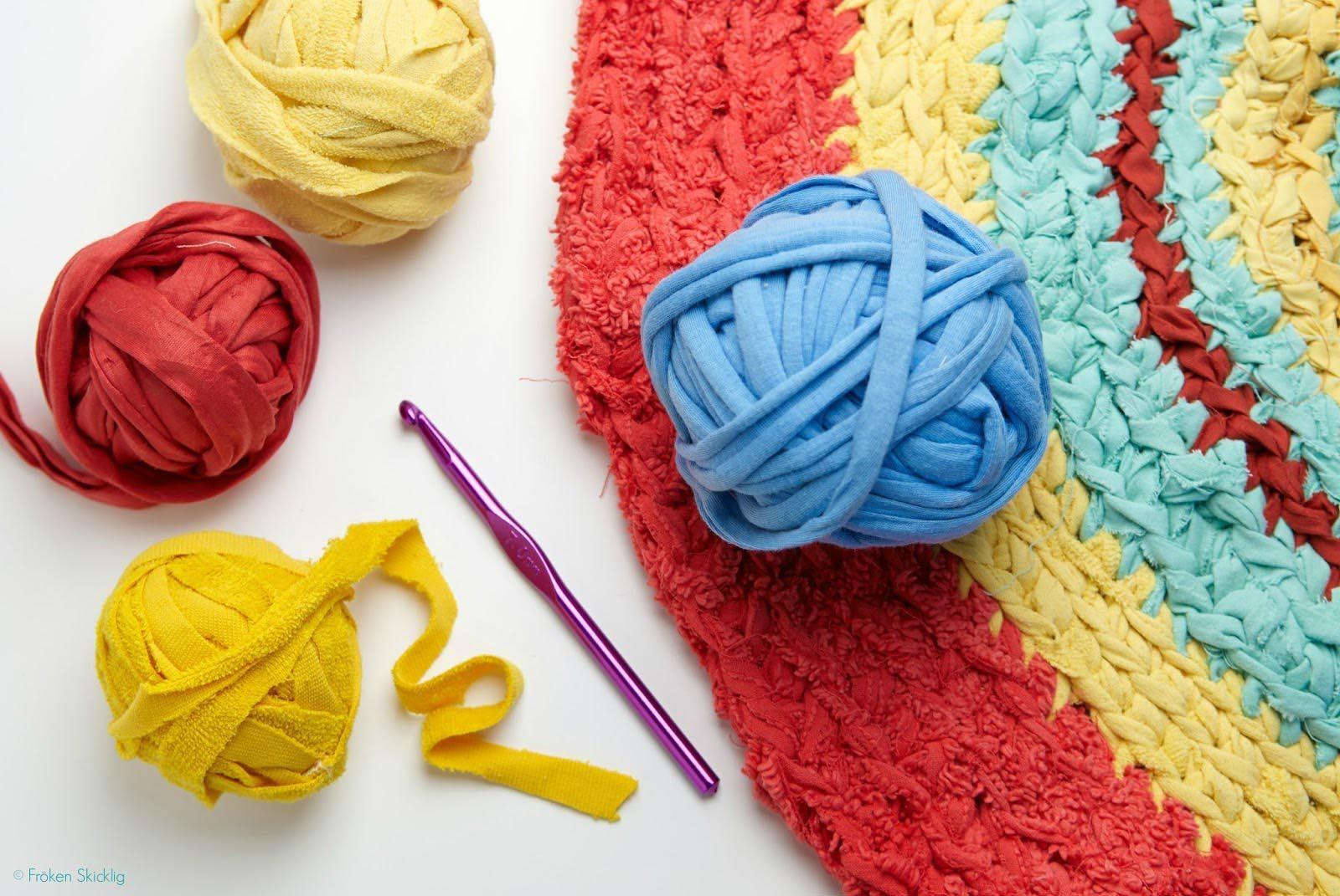 Rag Rug Tutorial Crochet