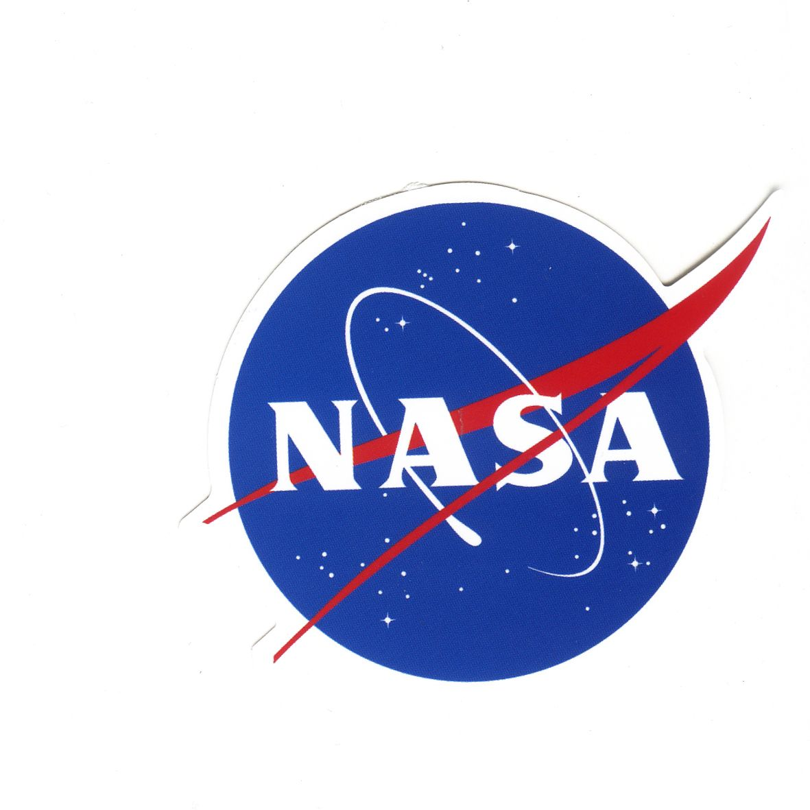 #1605 NASA Badge Logo , Height 8 cm decal sticker - DecalStar.com | DecalStar.com | Pinterest ...