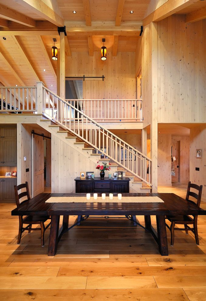 Dining Room Open Stairway