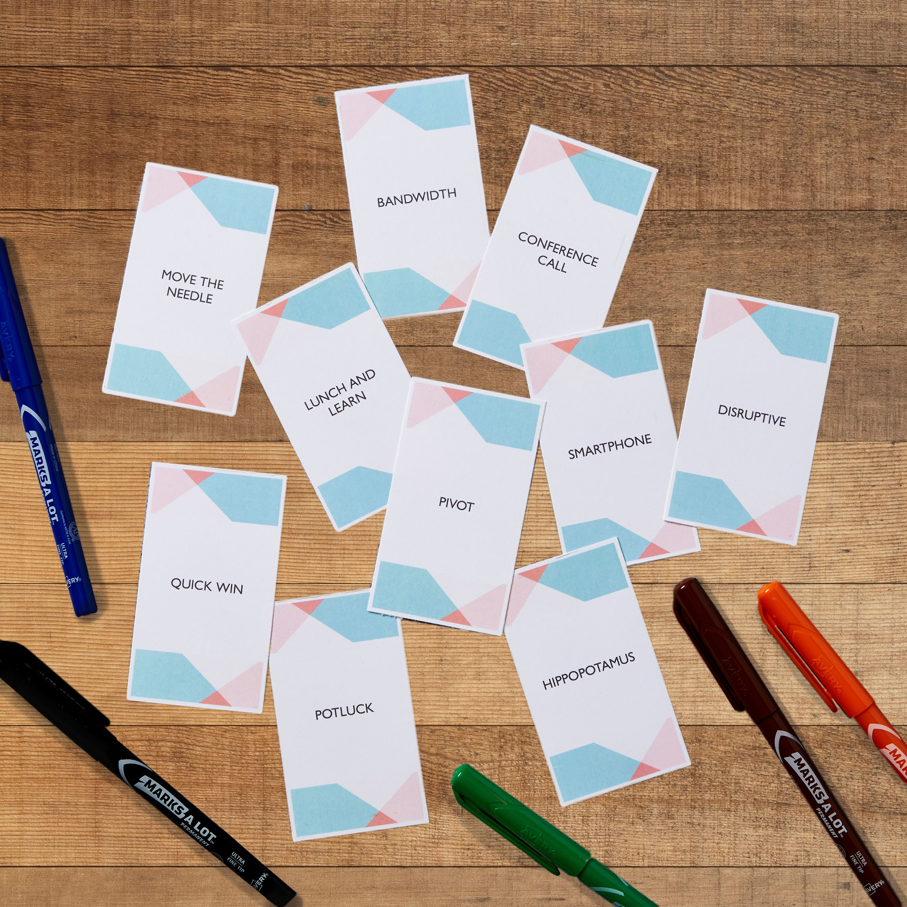 At Home Team Building Games And Activities Free Printables Free Printable Business Cards Printable Business Cards Avery Labels