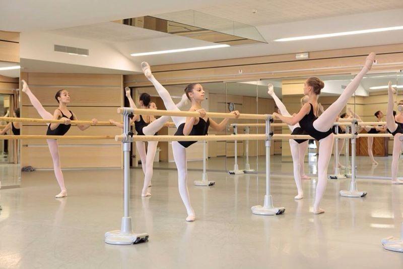 En Clase de Ballet