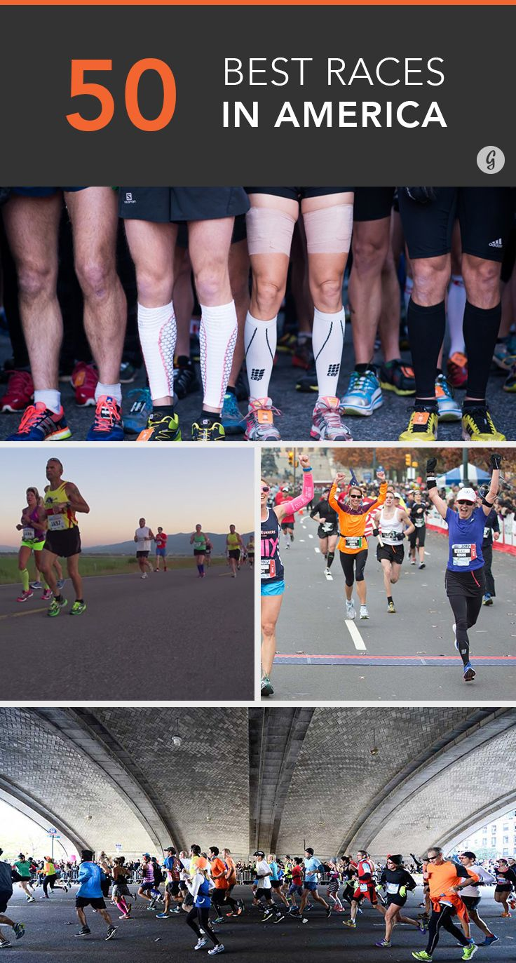 The 50 Best Races in America, StatebyState Running