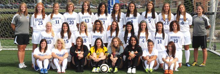 Urbana University Women's Soccer Team | Sarah Charles aka ...