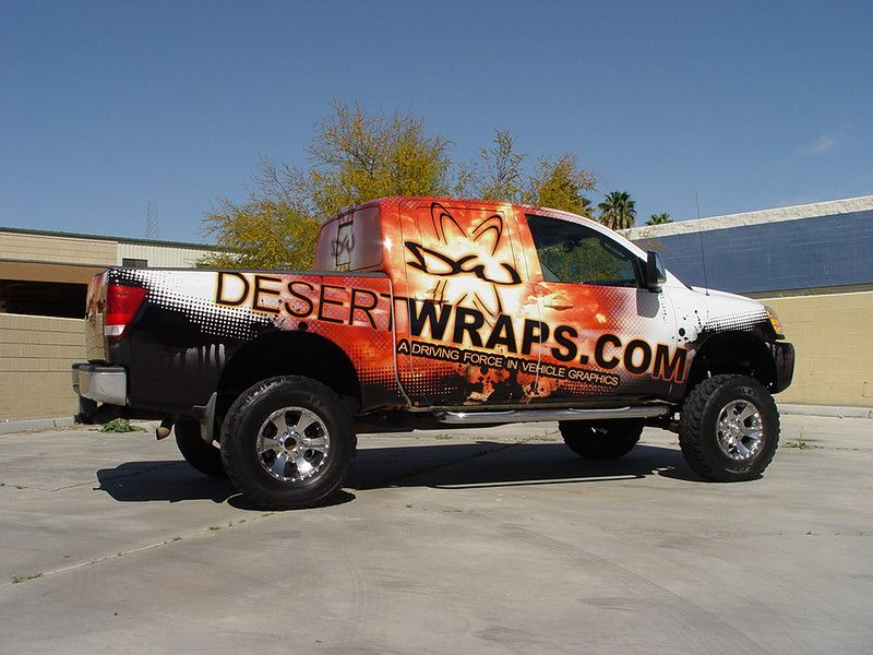 Truck Wraps Desert Wraps Trucks, San bernardino county