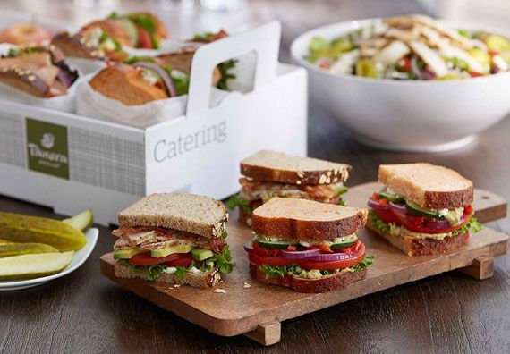 Panera Bread Catering Application Garden tour ideas