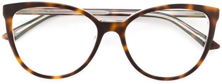 4ad739aa1ad431 Dior Eyewear - lunettes de vue Montaigne 25 Eyewear, Glasses, Eyeglasses, Eye  Glasses