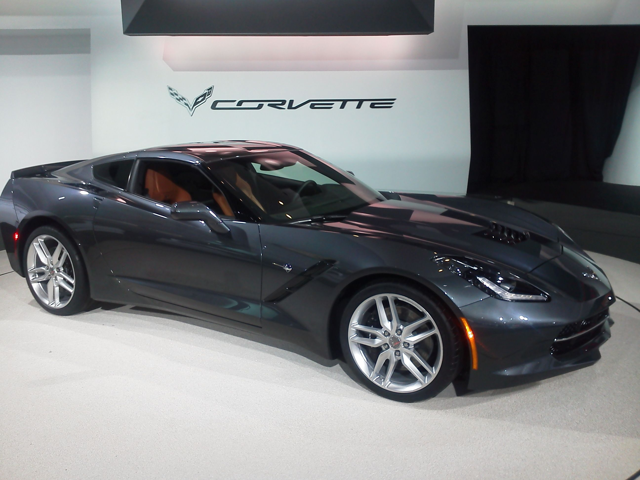 New Corvette Stingray at the NAIAS in Detroit Jan 16th 2013
