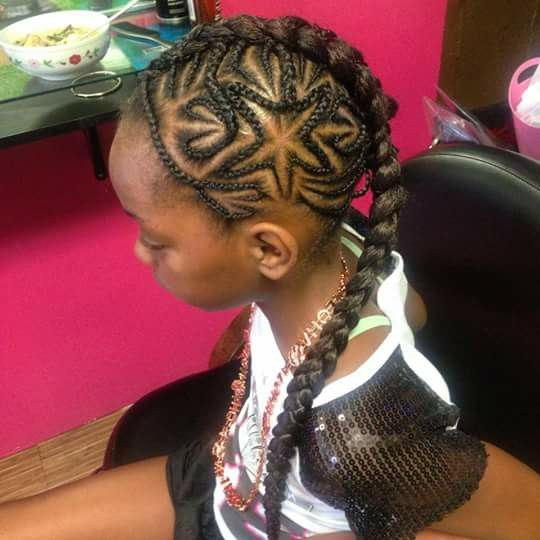 Star braids | Hairstyles For Little Girls | Hair styles ...