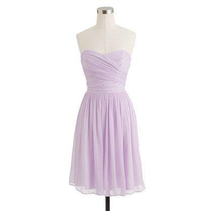 Elegant and Cute silk chiffon Lilac Bridesmaid Dresses 2013 on Etsy, $99.99