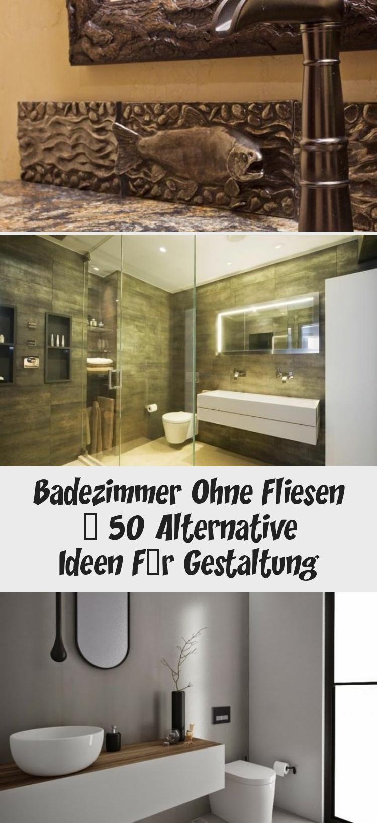 Badezimmer Ohne Fliesen 50 Alternative Ideen Fur Gestaltung Badezimmer Fliesen Badezimmer Fliesen