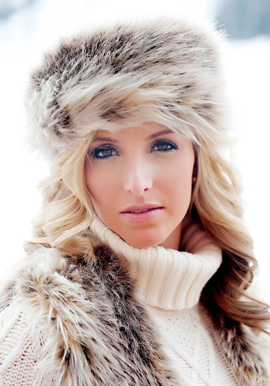 97f7cf640 Again, in either this or black >>> Russian Lynx Faux Fur Russian Hat ...