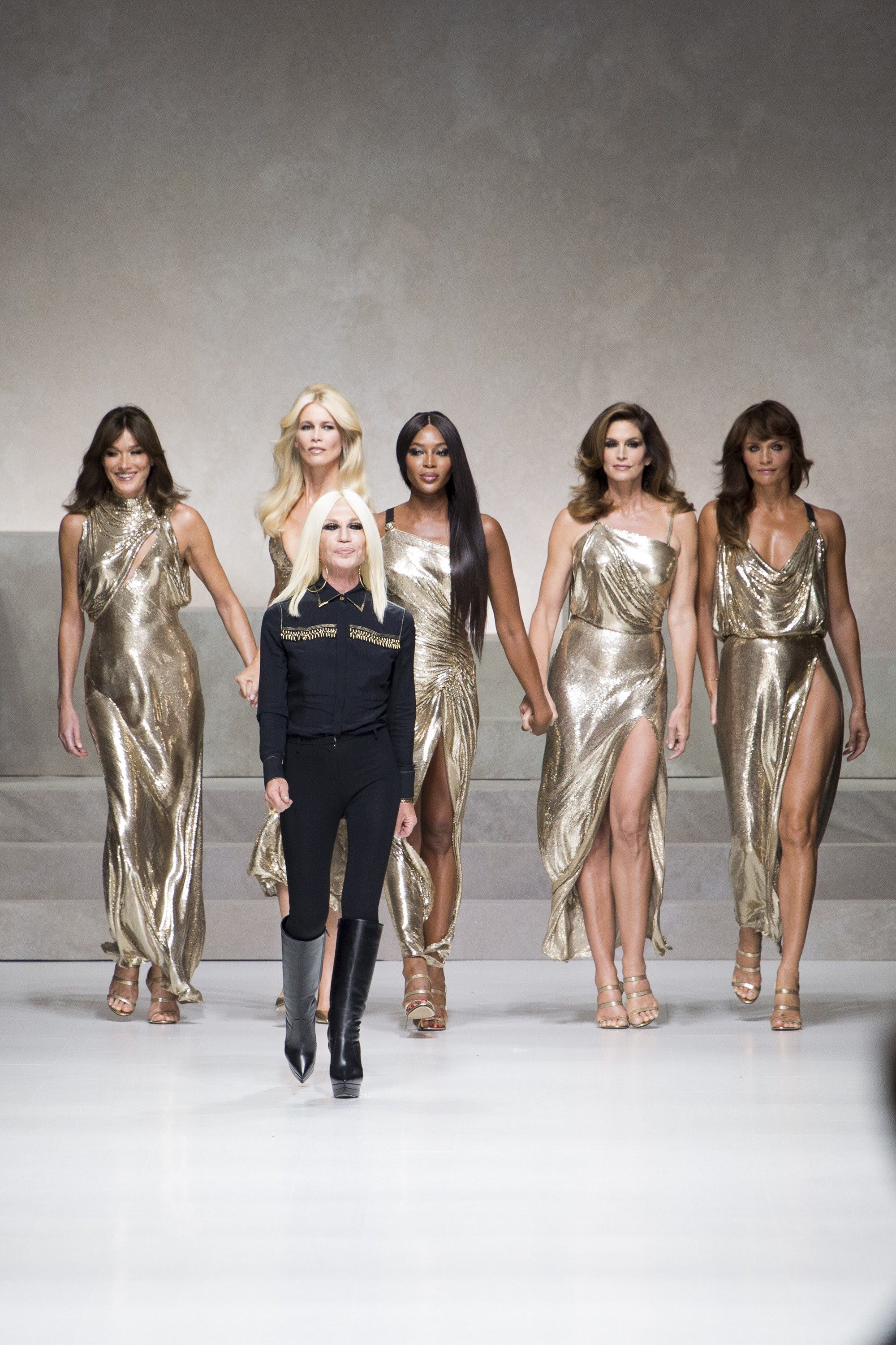 Image result for donatella versace with the supers