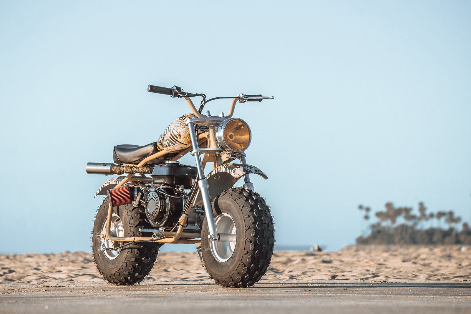 Coleman Ct 200u Ex Lit L Smokey Mini Motorbike Mini Bike Vespa Vintage