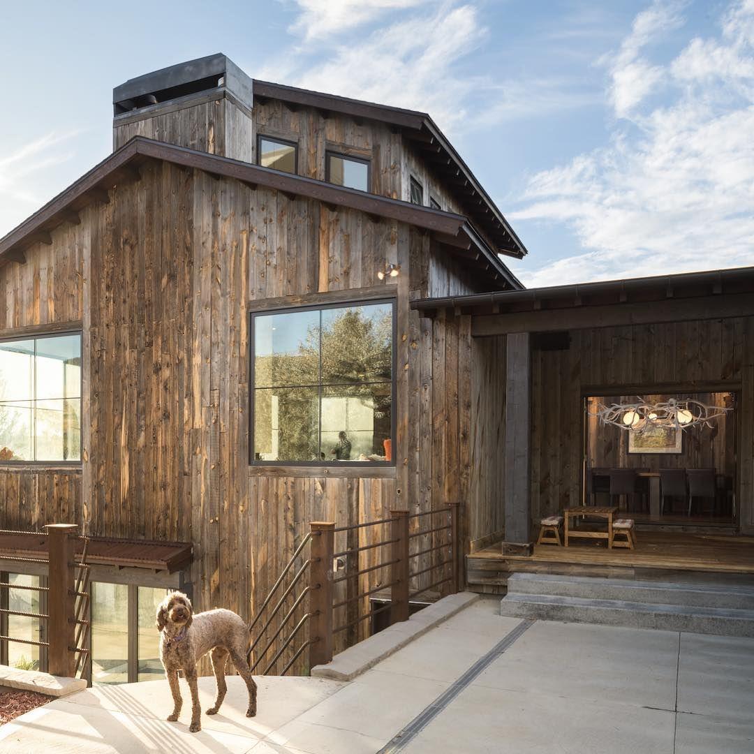 Modern Exterior Wood Siding: Reclaimed Wood Home Exterior Siding By Centennial Woods