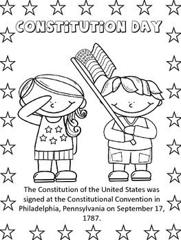 Constitution Day Freebie Constitution Day Constitution Second