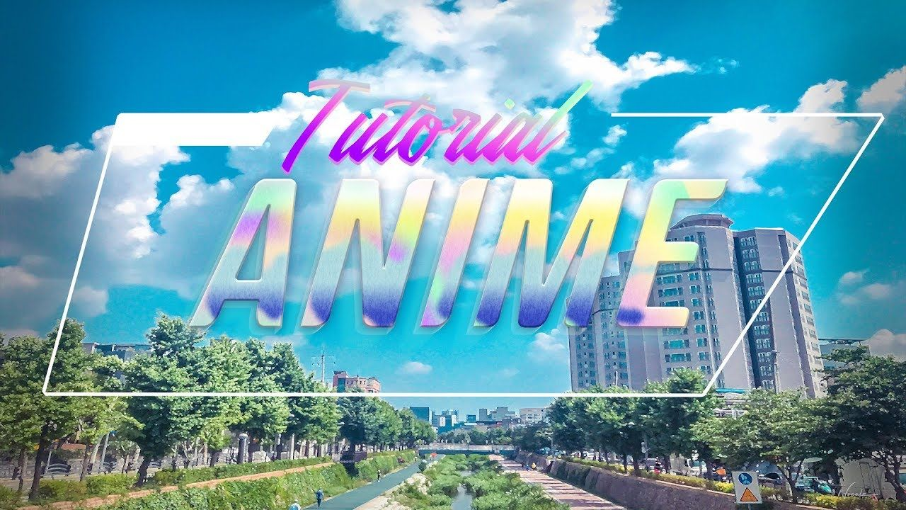 Edit your own anime wallpaper with