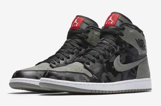 1ef59d1ddca7 The Air Jordan 1 High Gets Covered In Camo