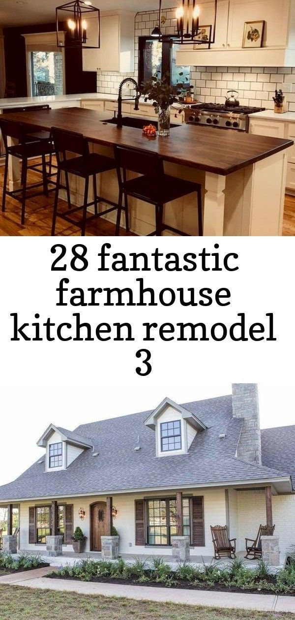"28 fantastic farmhouse kitchen remodel 3 #barndominiumideas #homedesign #kitchendesignideas #kitchenideas ""Barndominium"" is rising in popularity as modern residential and commercial buildings. Modern barndominium plans have many advantages, such as easy construction, versatile remodeling, and spacious living area.  #barndominium #ideas #style #rustic #dreamhouse #ranchhouse #farmhouse #country Country ranch home plan with 1,831 sq ft, 3 bedrooms, 2 bathrooms and a large laundry room. Conside #barndominiumideas"