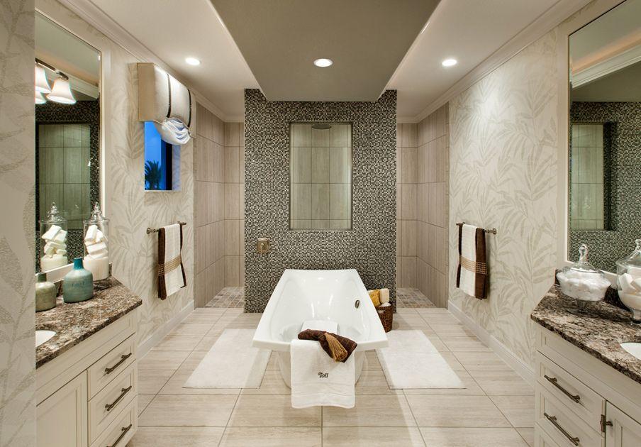 Master Bath   Serino Model Home At The Palazzo At Naples, Florida