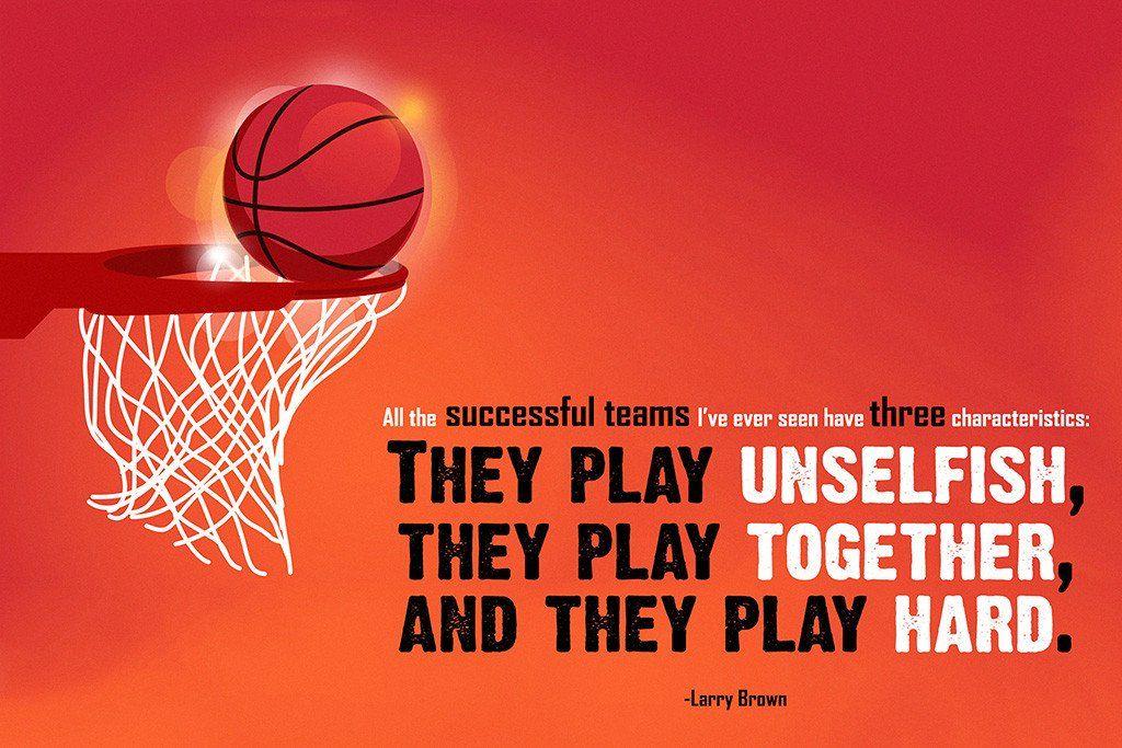 Larry Brown Successful Team Motivational Basketball NBA