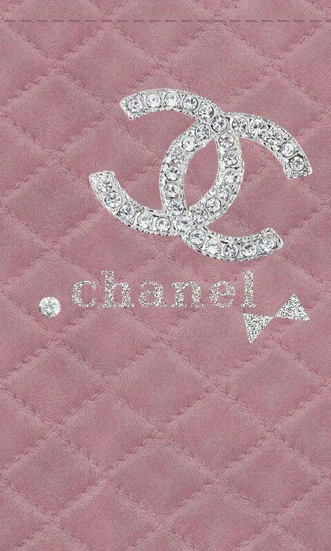 Chanel Iphone Wallpaper Glitter Pink Wallpaper Iphone Chanel