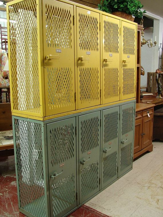 Antique Vintage Reclaimed Architectural Industrial Yellow
