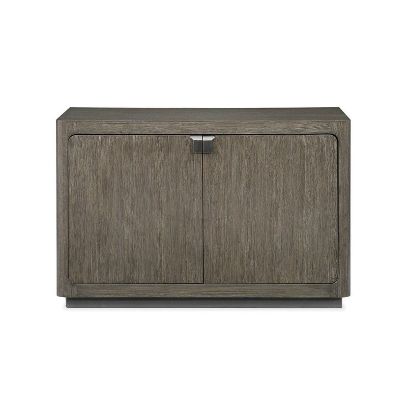 Fusion Cerused Oak 2 Door Cabinet