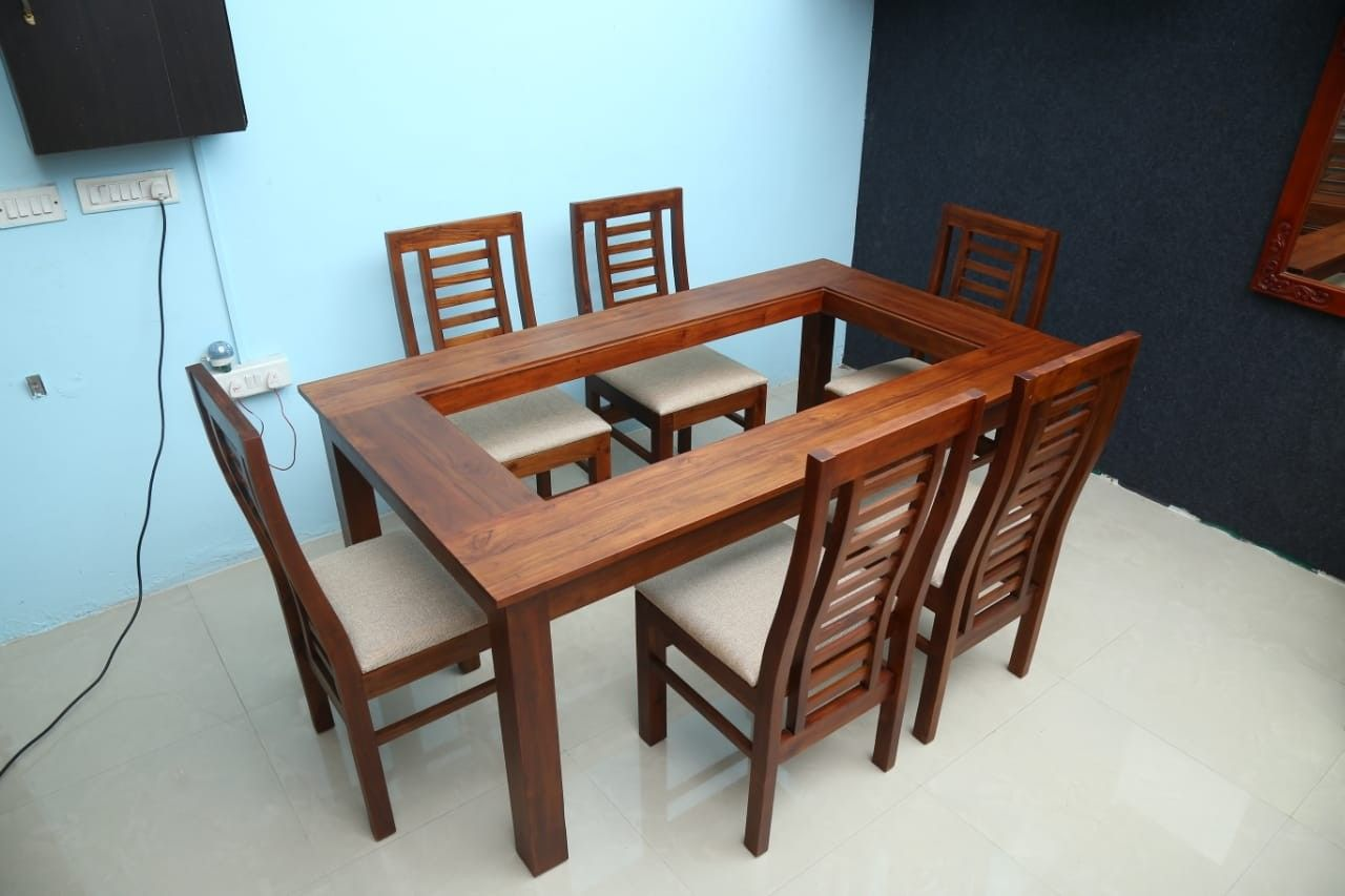 Home Design Ideas: Woodwork Wooden Dining Table Designs Kerala