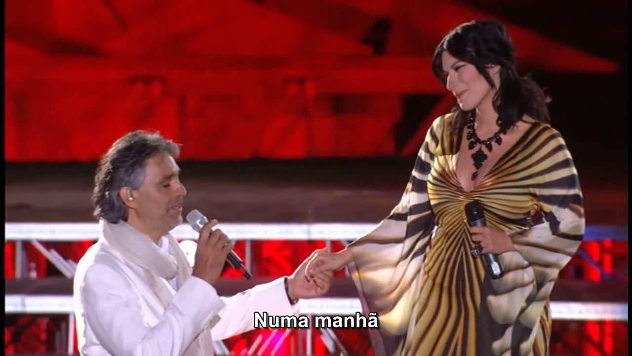 Andrea Bocelli Laura Pausini Dare To Live Vivere Legendado