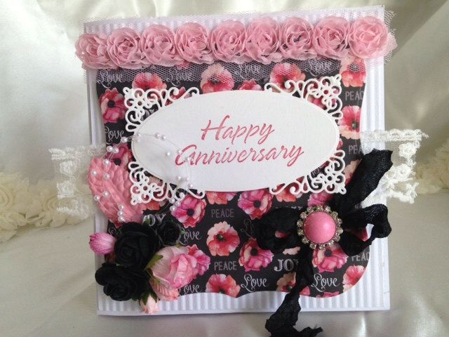 Happy anniversary card personalized card blank greeting card