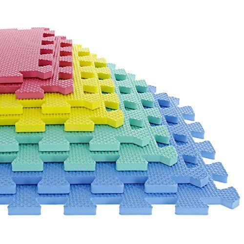 Stalwart 8 Piece Multi Color Interlocking Eva Foam Mat Https Www Amazon Com Dp B0050p218e Ref Cm Sw R Pi Dp X Foam Mat Flooring Soft Flooring Foam Mats