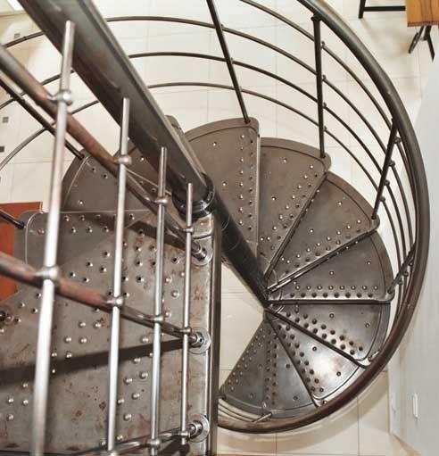 escalier colima on m tal cgmrotterdam. Black Bedroom Furniture Sets. Home Design Ideas