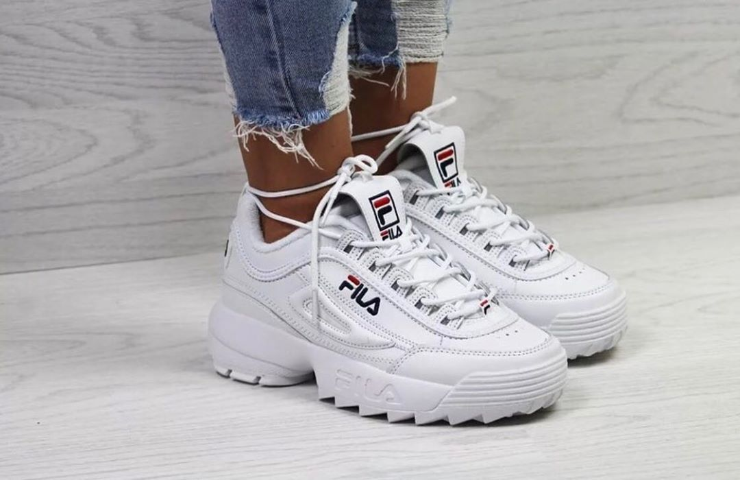 FILA Disruptor Low in weiss 1010302.1FG in 2020 | Sneaker