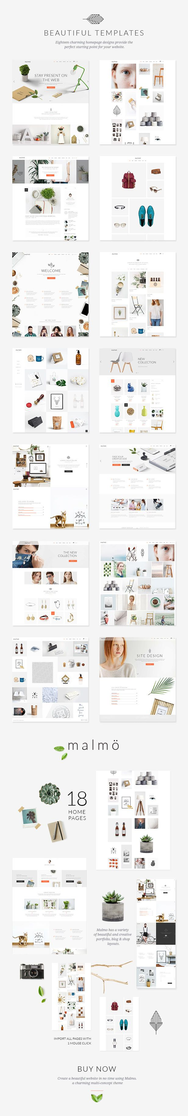 Google themes download for homepage - Malm A Charming Multi Concept Theme Font Packsdownload Themesgoogle